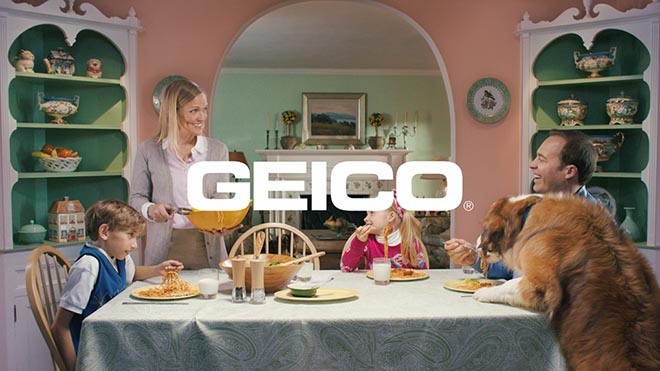 Geico Unskippable Family Table