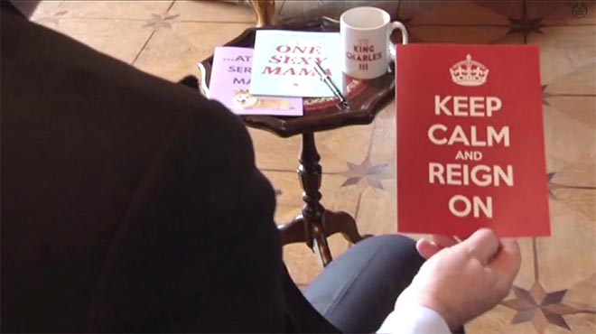 Queen Elizabeth Keep Calm and Reign On