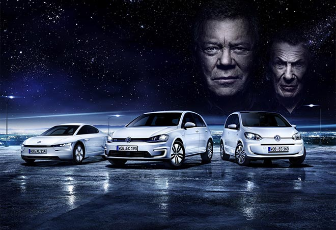 Volkswagen Future is Now William Shatner and Leonard Nimoy