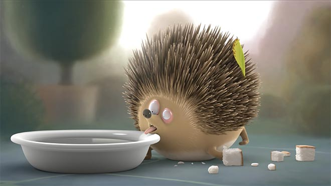 Genius Gluten Free hedgehog
