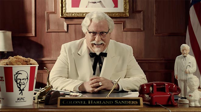 KFC Colonel Sanders in State of Nation