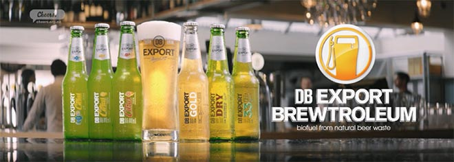 DB Export Brewtroleum bottles