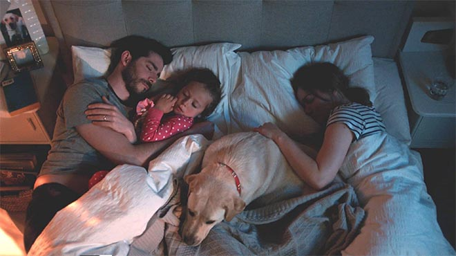 Dreams Replace Every 8 Years - Family in commercial
