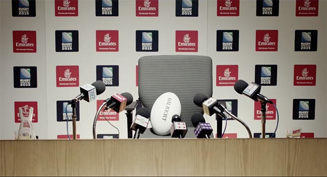 Emirates Rugby Ball press conference