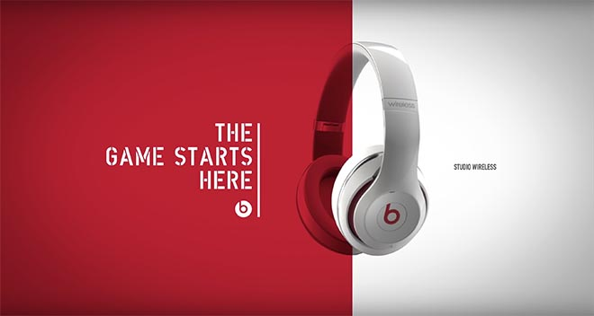 The Game starts here in Beats by Dre commercial