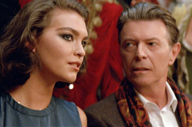Arizona Muse and David Bowie in Venice for Louis Vuitton commercial