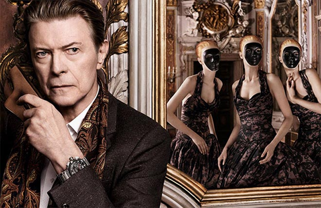 David Bowie in Venice for Louis Vuitton commercial