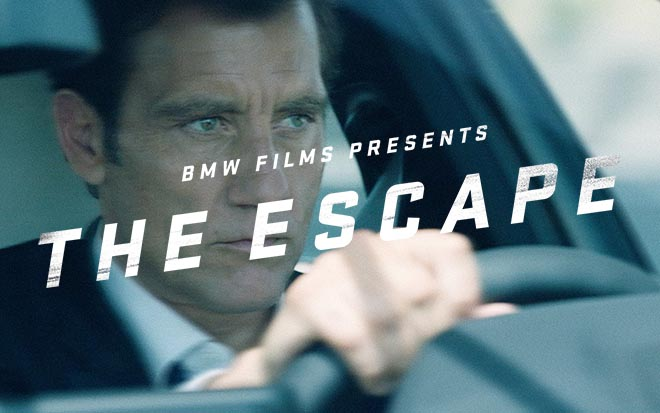 BMW The Escape - Clive Owen in BMW Films commercial
