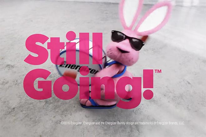Energizer Bunny Still Going