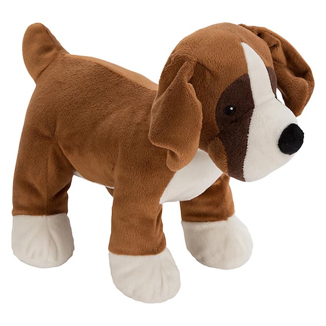 Buster The Boxer plush toy from John Lewis Christmas 2016 commercial