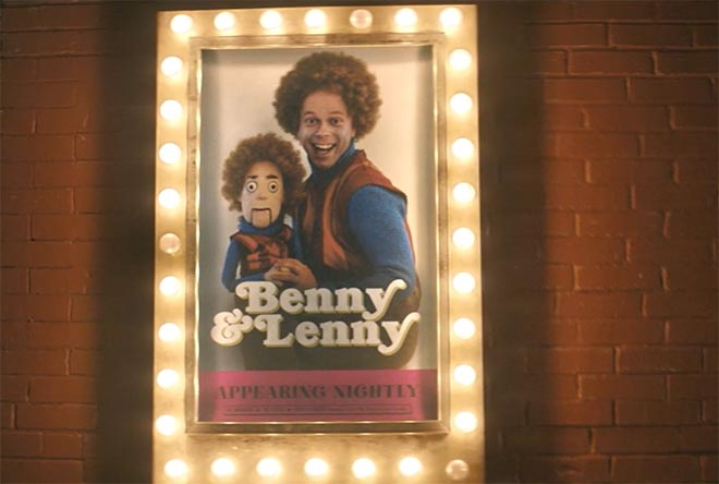 Benny & Lenny in Great Clips commercial