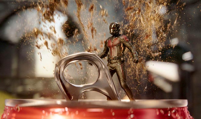 Coca Cola Mini commercial with Ant-Man