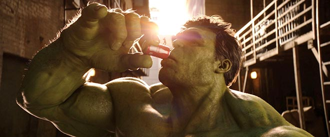 Coca Cola Mini commercial with The Hulk