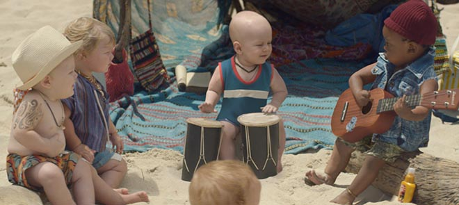 Evian Baby Bay Music