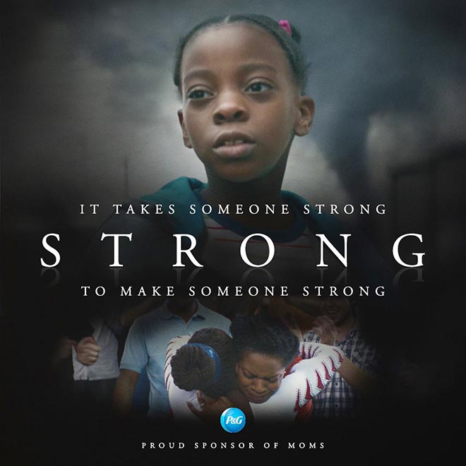 Thank You Mom Strong commercial - It takes someone strong