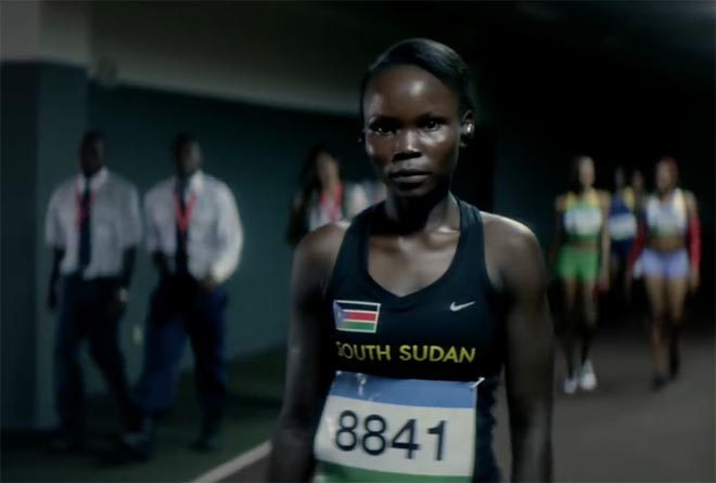 Samsung Olympics Chant - Margret Rumat Rumat Hassan from South Sudan