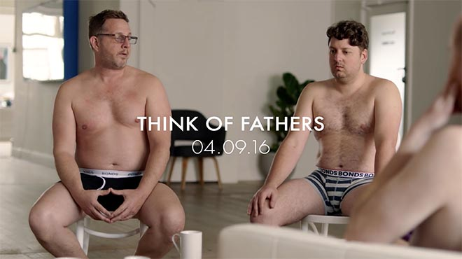 Bonds Think of Fathers commercial