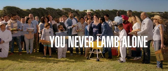 You Never Lamb Alone diversity ad