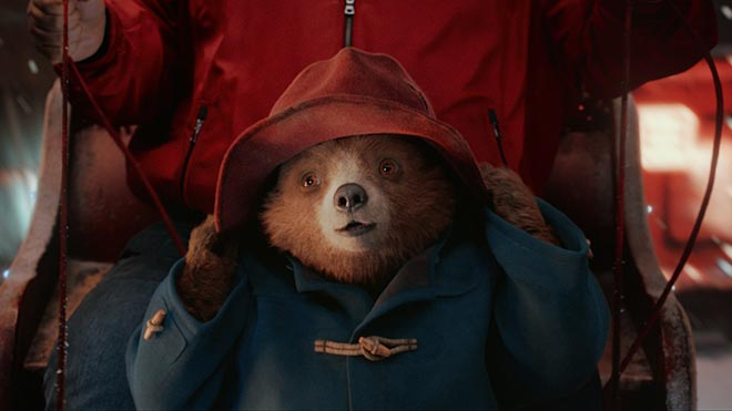 Paddington Bear in M&S Christmas 2017 commercial