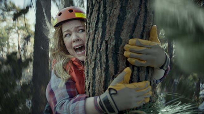 Kia Niro Melissa McCarthy in tree
