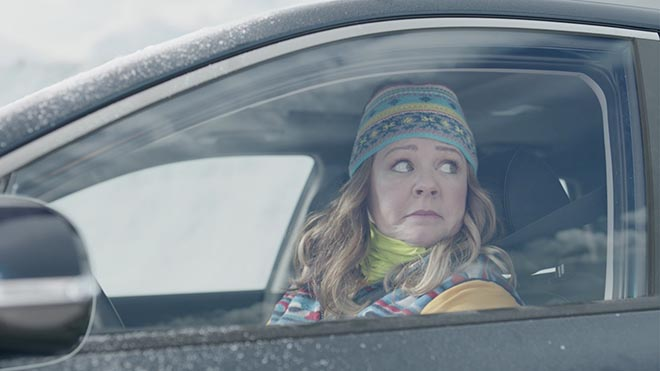 Melissa McCarthy in Kia Niro Hero's Journey commercial