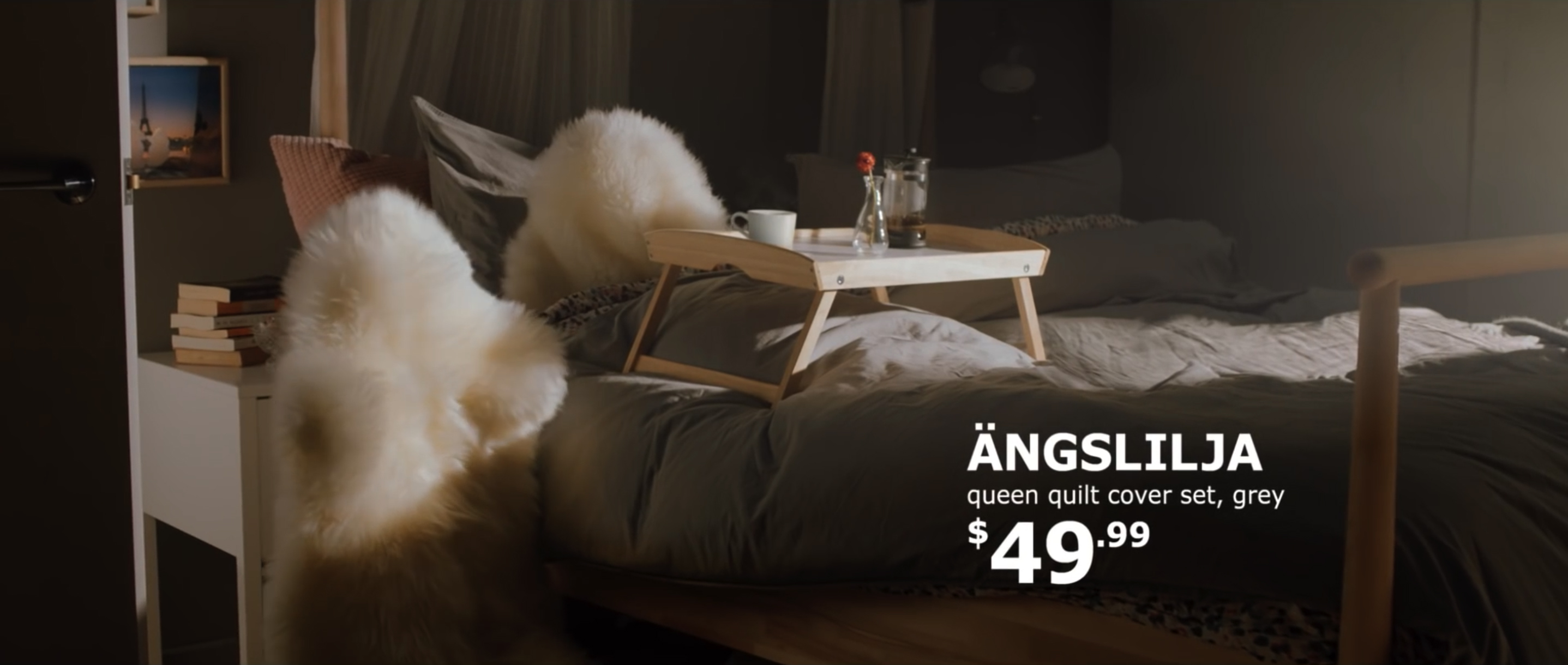 Ikea best day is everyday the inspiration room for Ikea commercial 2017