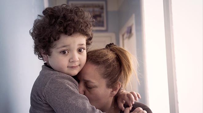 Autism film Enzo and Mother