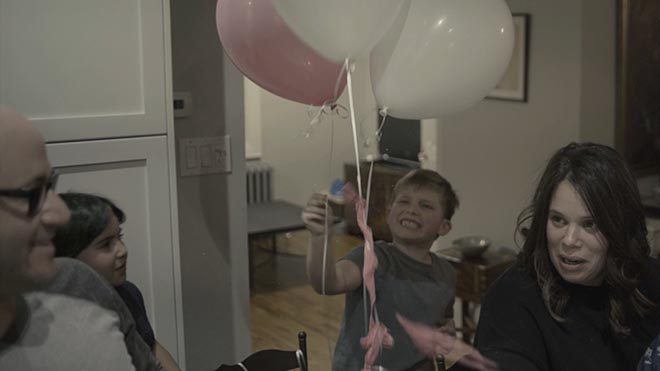Sounds of Trauma commercial - balloons