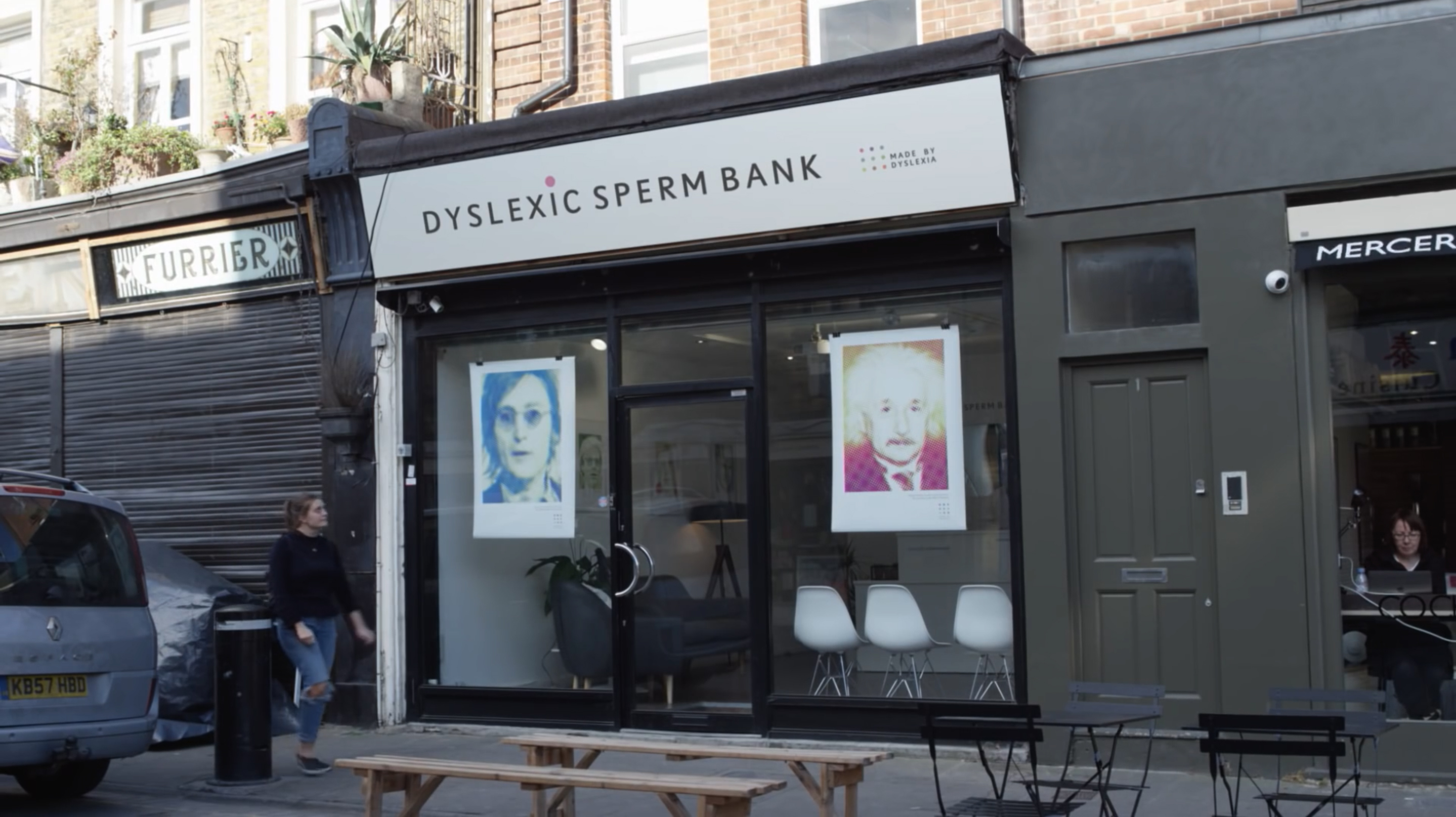 Image result for dyslexic sperm bank