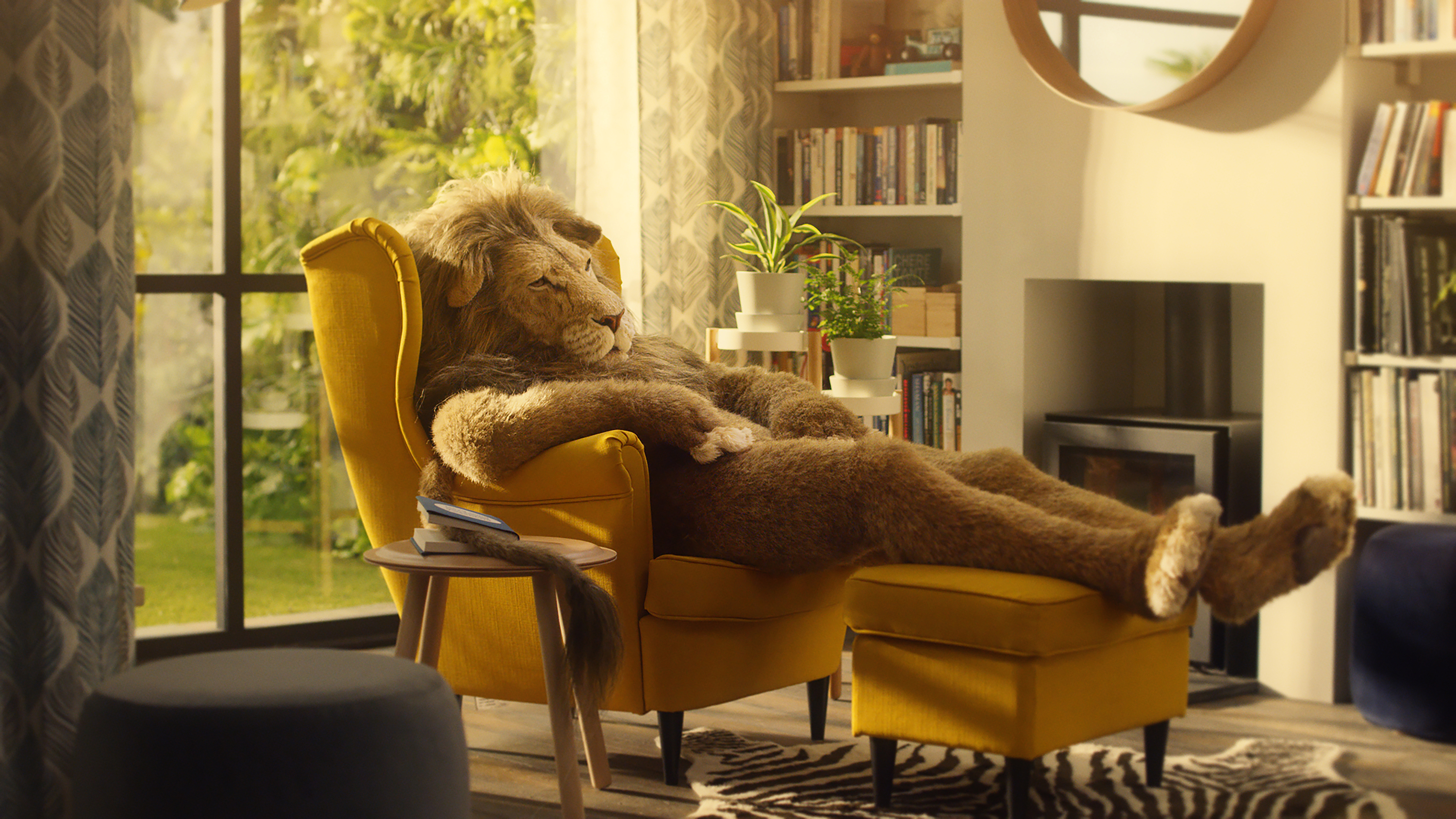 Ikea Lion Man Relax Into Greatness The Inspiration Room