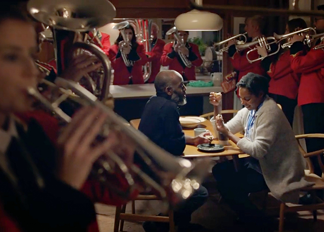 Co-op Brass Band in Not So Silent Night