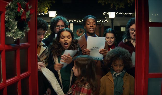 HP 12 Days of Real Time Carolling