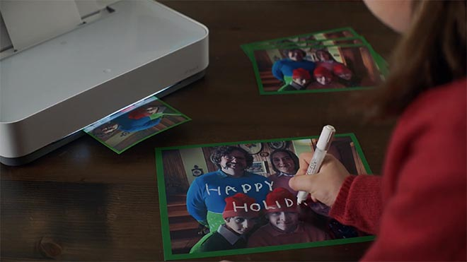 HP 12 Days of Real Time Printing Cards