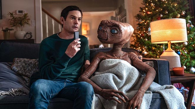 XFinity commercial with E.T. and Elliott