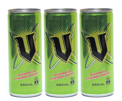 Cans of V