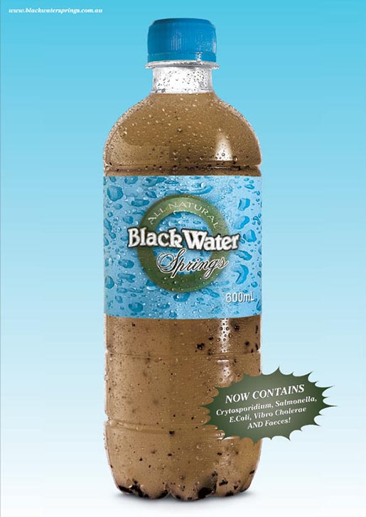 Blackwater Springs Bottle