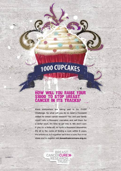 Cancer Cupcakes Thousand Dollar Challenge