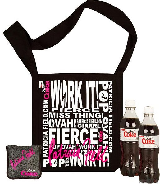 Diet Coke Patricia Field Bag
