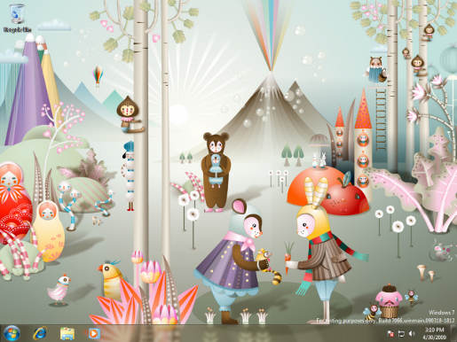 Windows 7 Wallpaper by Kat Leuzinger