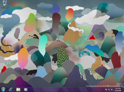 Windows 7 Wallpaper by Nan na Hvaas