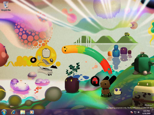 Windows 7 Wallpaper by Nanospore