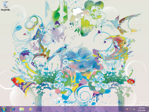 Windows 7 Wallpaper by Pomme Chan
