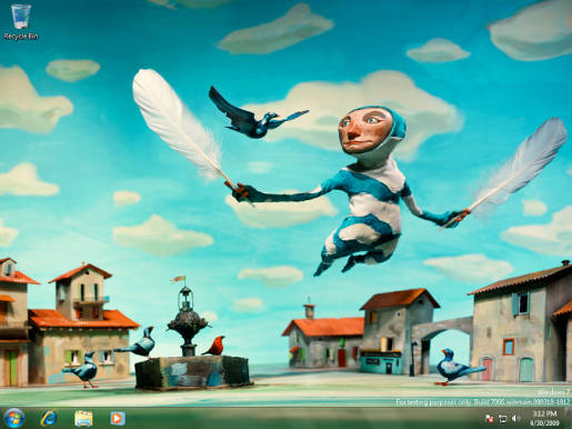 Windows 7 Wallpaper by Red Nose Studio