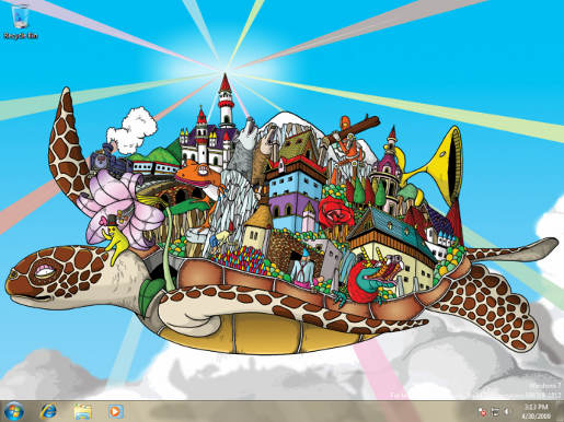 Windows 7 Wallpaper by Yuko Kondo