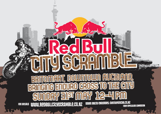 Red Bull City Scramble Promotion