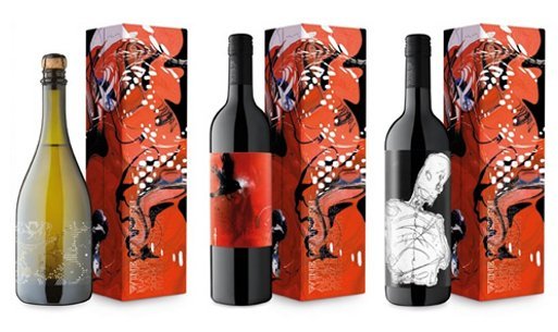 Wine of Design labels