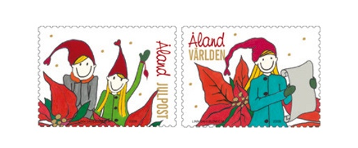 Aland Christmas Stamps 2009