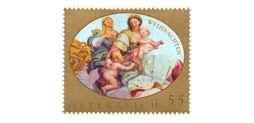 Austria Christmas Stamp 2009