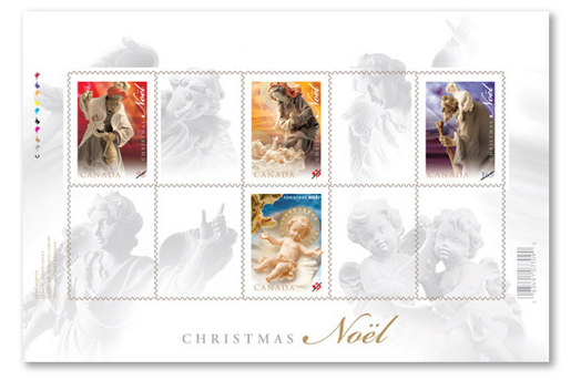 Canada Christmas Stamps 2009