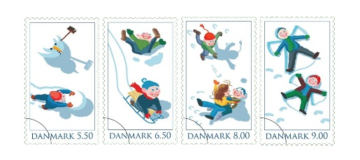 Denmark Christmas Stamps 2009